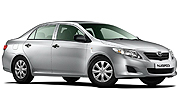 Rent a Toyota Corolla catagory B Vehicle
